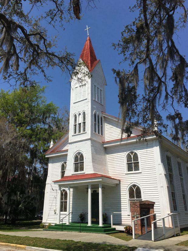Tabernacle Baptist Church in Beaufort, South Carolina