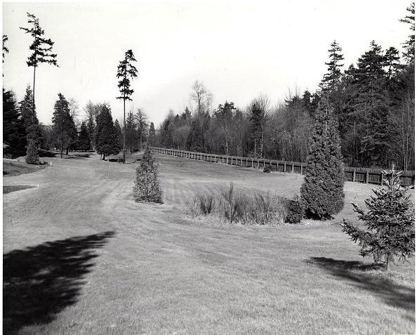 1951, from Sequoia to Deutzia, Phila.....note fence