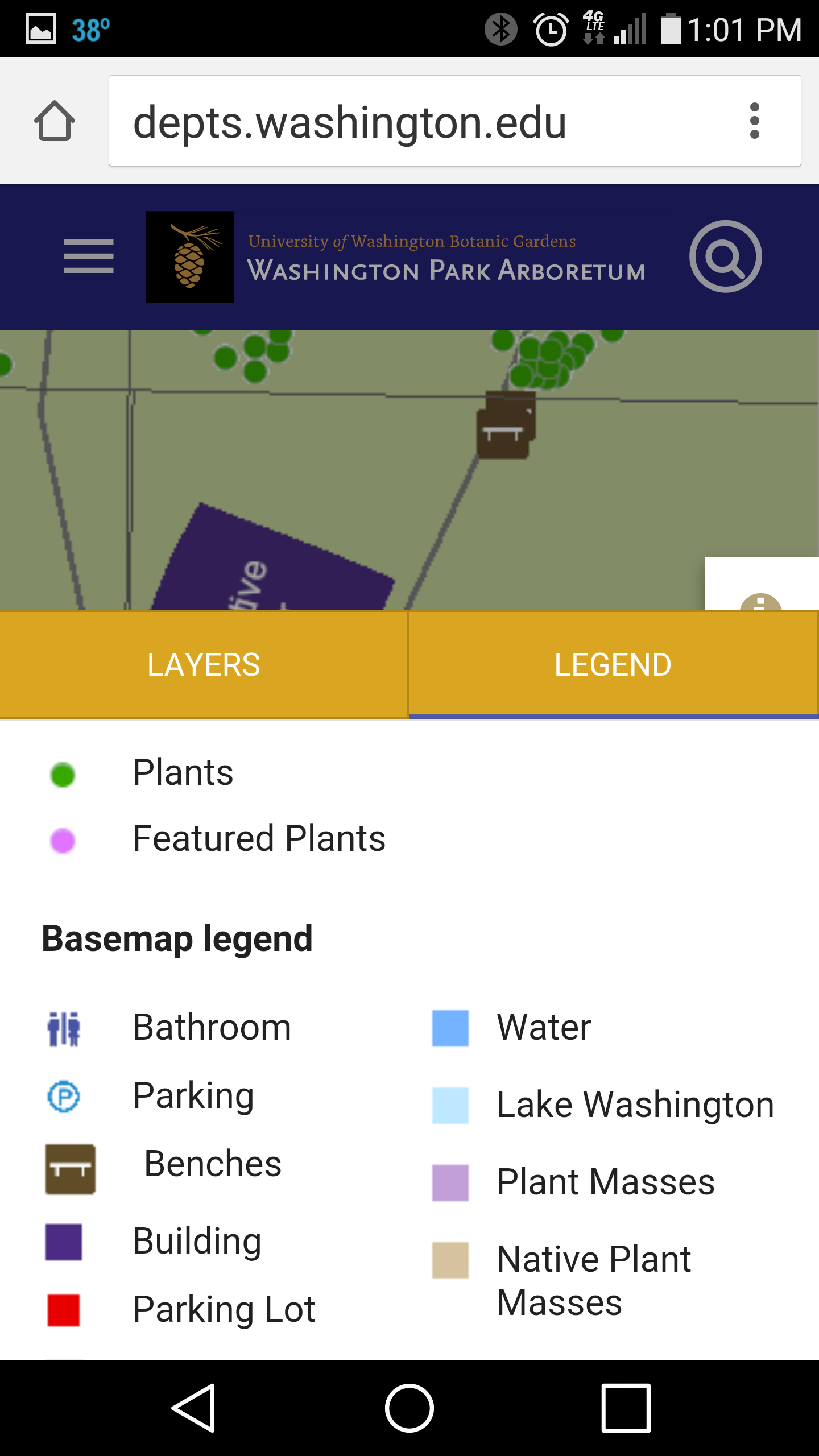 Arboretum Map Upgraded for Smartphones