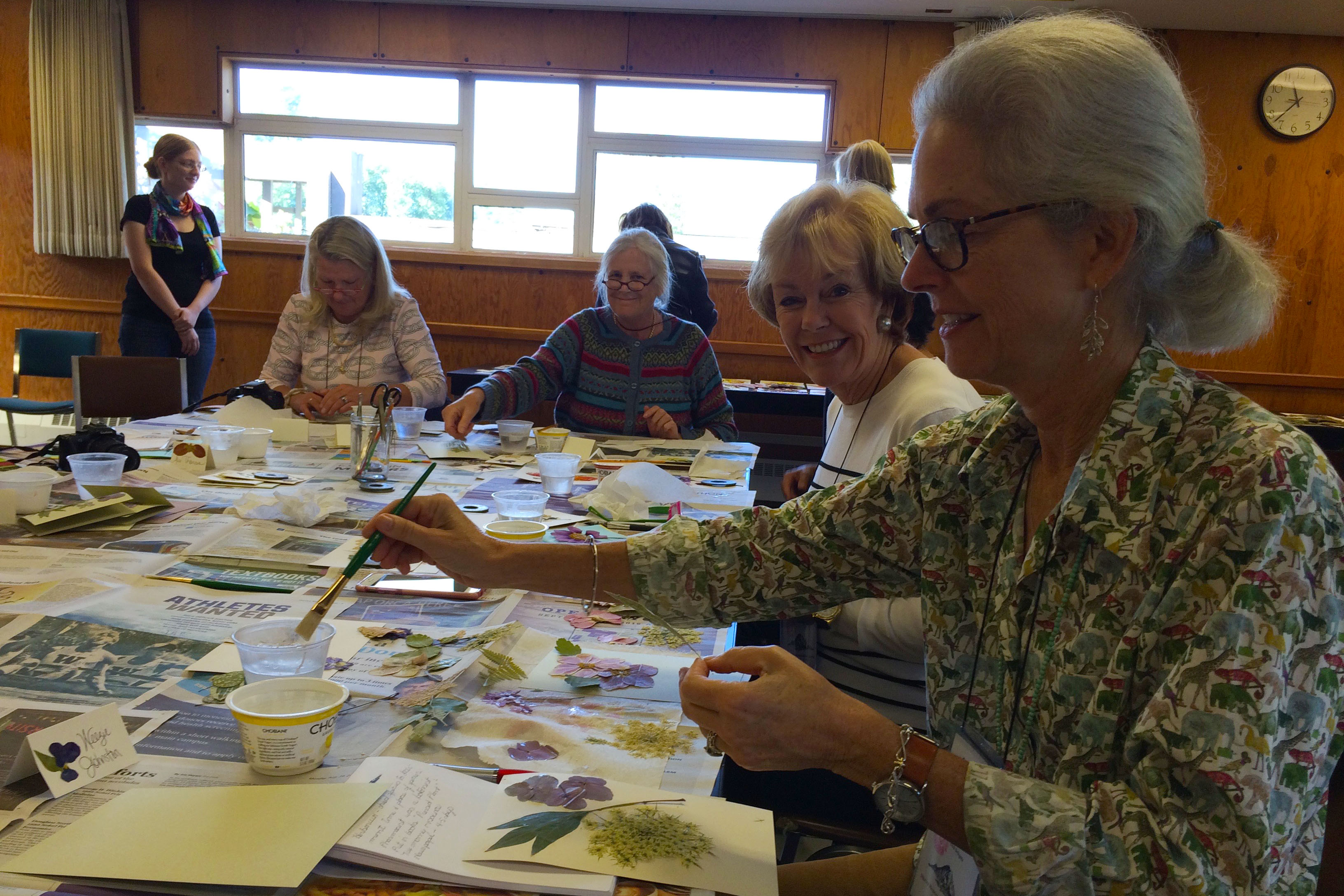 Herbarium Workshop: mounting herbarium specimens and making pressed flower note cards
