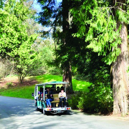 Tram Tour Arboretum Loop Trail